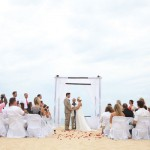 Pedregal de Cabo San Lucas Beach Wedding: Emily & Evan
