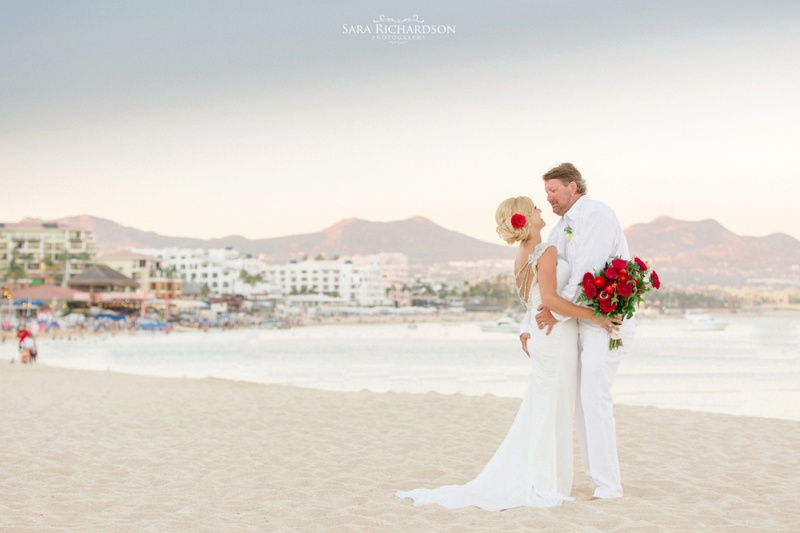 Carrie & Pete's Colorful Los Cabos Wedding Celebrations