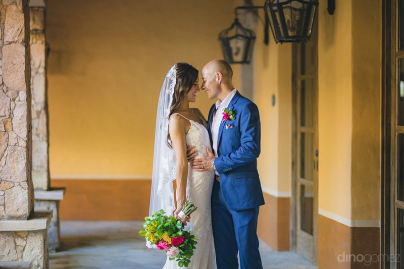 Nicole & David's Romantic & Festive Cabo Wedding at Hacienda Cocina