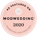 As Featured On Modwedding