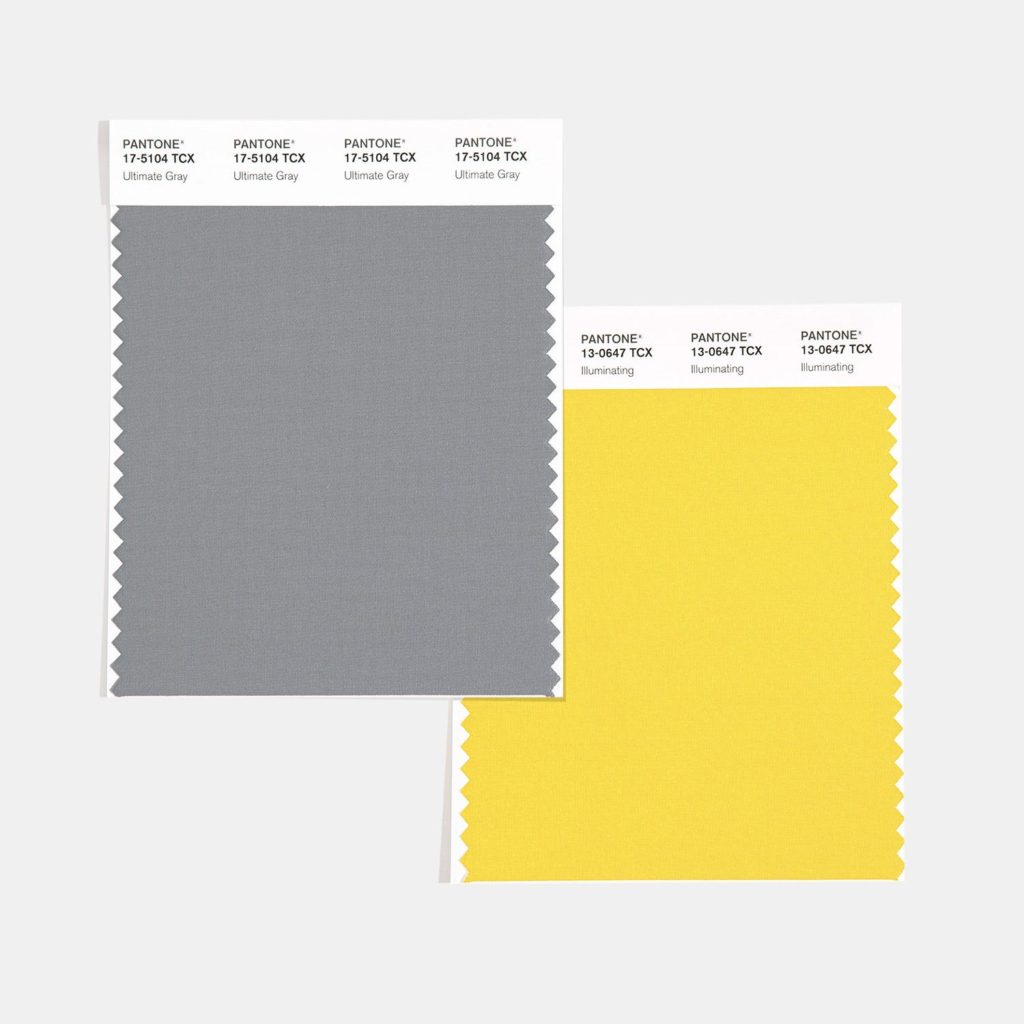 Yellow and Gray are the Colors for 2021