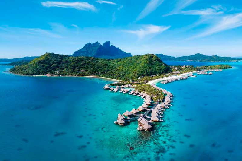 Honeymoon Destinations 2021: Bora Bora
