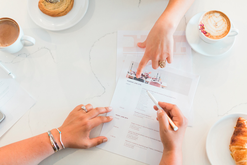 A wedding planner will design an incredibly detailed plan
