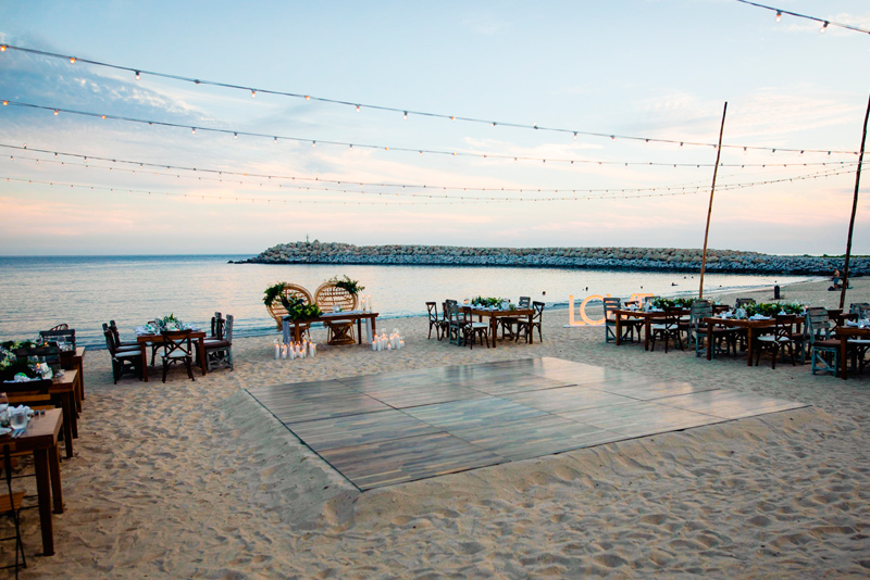 Beach Wedding at Hotel El Ganzo