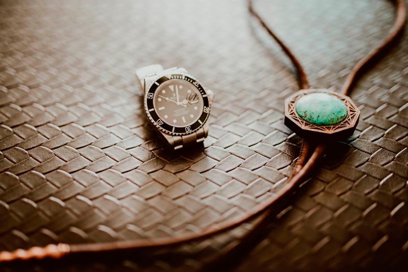 The Groom's accesories