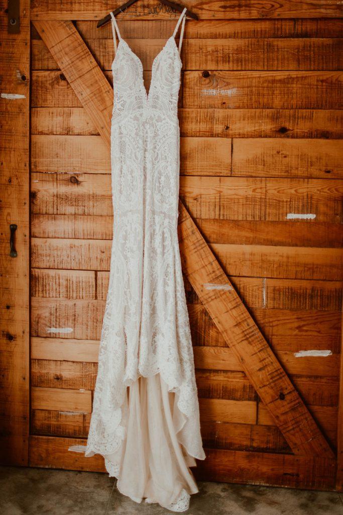 The Bride's Galia Lahav Wedding Dress