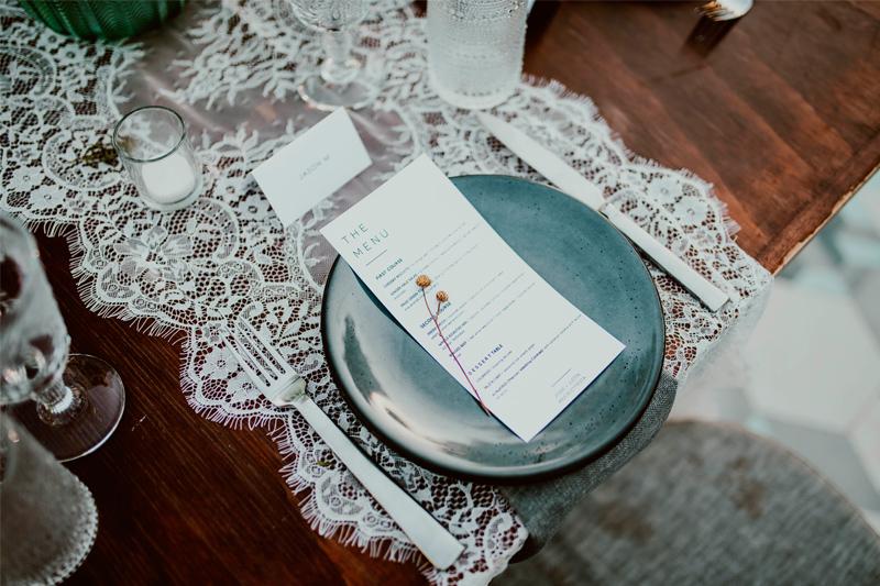 The Wedding Menu