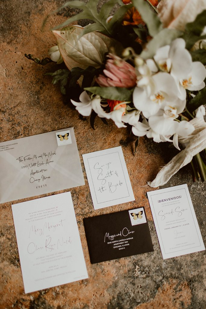 Maggie and Chase Los Cabos Wedding Invitation