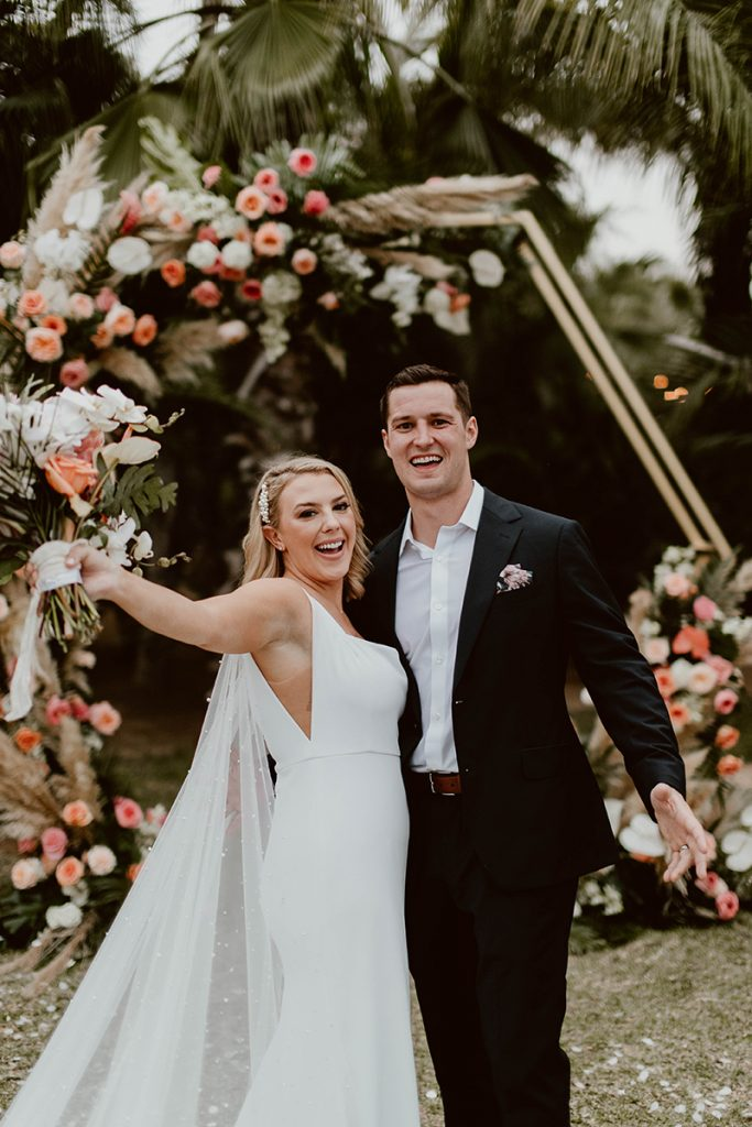 Maggie and Chase at Acre Wedding Venue