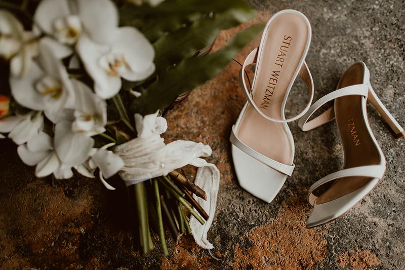 The Bride's Stuart Wietzman Shoes