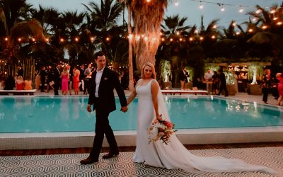 Maggie & Chase: An Edgy Wedding With Tropical Vibes in Los Cabos