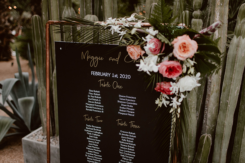 Guest list and accomodation at Maggie and Chase Wedding in Los Cabos