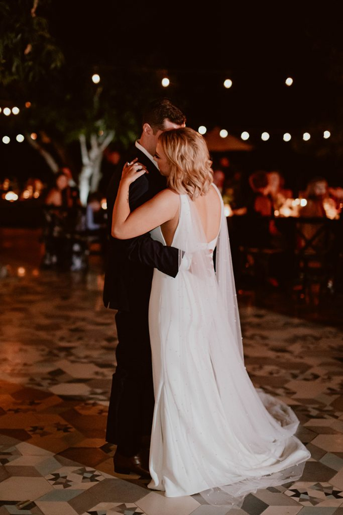 Maggie and Chase first dance