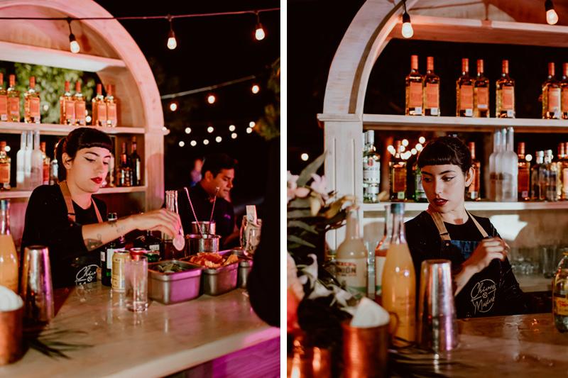 Busy bartender