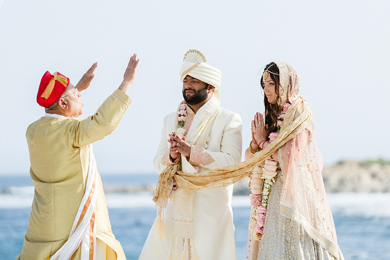 Ashley & Aashish: A multicultural wedding with boho touches in Los Cabos